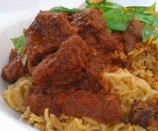 Recipe Easy Low-Fat Thermomix Beef Madras by Madame Thermomix - Recipe of category Main dishes - meat