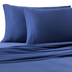 Jersey Knit Sheets Queen Navy Or Purple Maybe I D Like