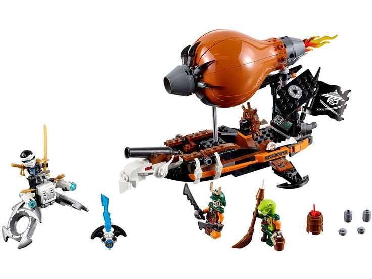 LEGO 70603 - LEGO NINJAGO - Raid Zeppelin - Toymania Lego Online Shop 35E
