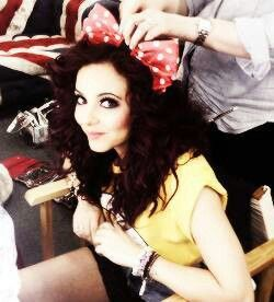 Jade Thirlwall I Love her hair and bow so adorable and cute ;)