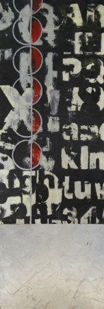 Abstrakte Kunst: Schwarzweiß (Dekorative Kunst) Gerahmte Kunst bei AllPosters.de