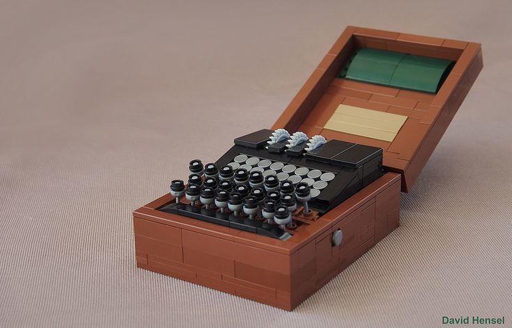 A perfect combination – the LEGO Enigma machine