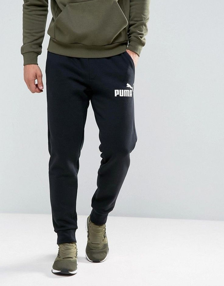 Puma ESS No.1 Joggers In Black 83826401 - Black