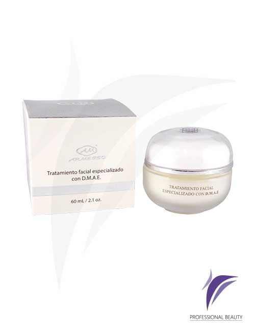 Tratamiento Facial con DMAE Crema 60ml: Fórmula que combina poderosos ingredientes para una hidratación intensiva, efecto lifting y sistema antiedad.