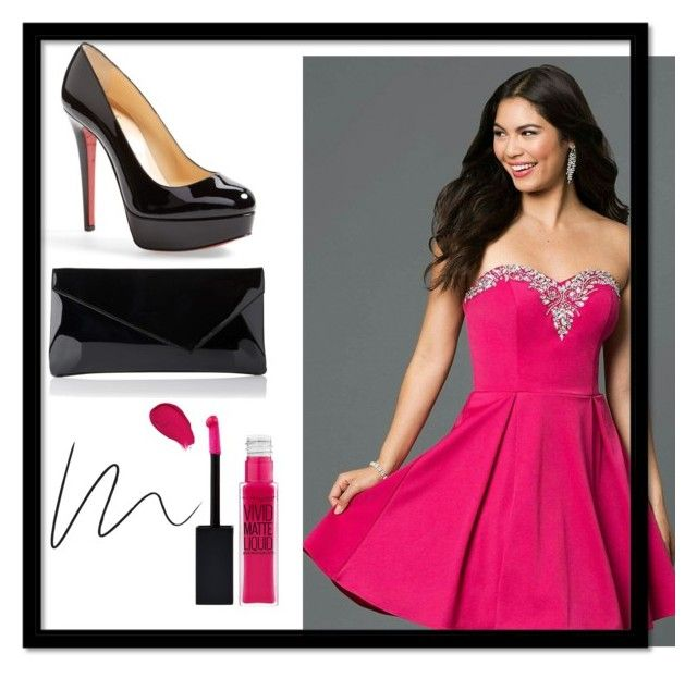 """""""Graduation"""" by myheartcol on Polyvore featuring Christian Louboutin, L.K.Bennett and Maybelline"""