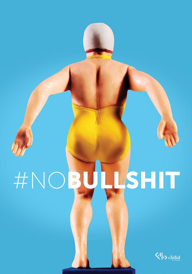 NO BULLSHIT  #agencylife #webdesign #poster #chilid #design #values #designagency