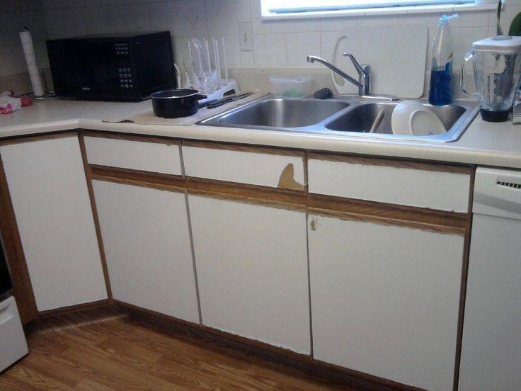Refacing Formica Bathroom Cabinets