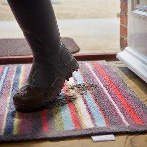 Hug Rug Contemporary Stripe 29 Doormats - Free UK Delivery - The Rug Seller
