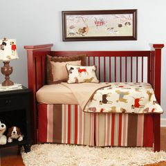 eclectic baby bedding by Doodlefish