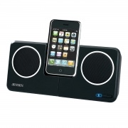 Jensen JISS-250I Docking Speaker Station for iPod/MP3 and iPhone 3G 3GS  Play and charge your iPhone 3G, iPod itouch, iPod nano, iPod classic, iPhone, iPod (5th generation), iPod (4th generation), and iPod mini (iPod or iPhone not included) with this docking speaker station. Aux line-in jack with cord is included for connecting your iPod shuffle, MP3, or other digital audio players. Dock has rotating capability to view in landscape or portrait view.  $62.99