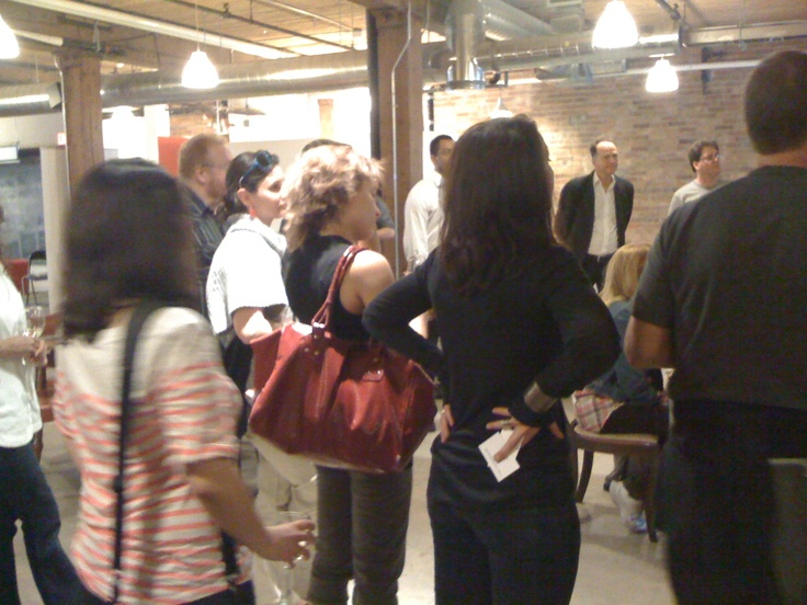 @raindancecanada's Open House event on March 21, 2012 at Toronto's Centre for Social Innovation.