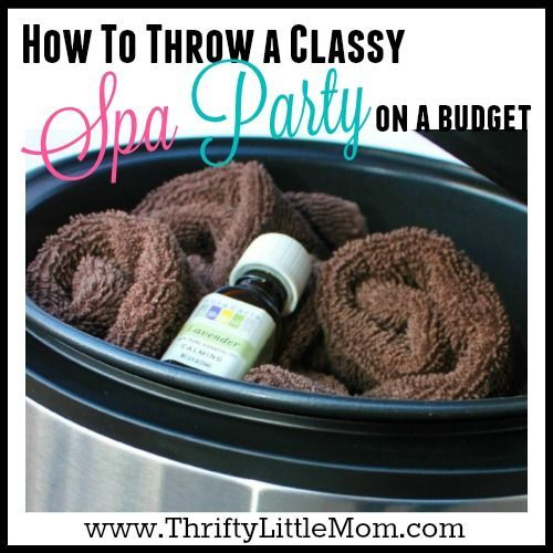 Ever wanted to throw an out of the box party for your daughter, Mother's Day or just you and your friends? Check out how to throw a thrifty spa day party!