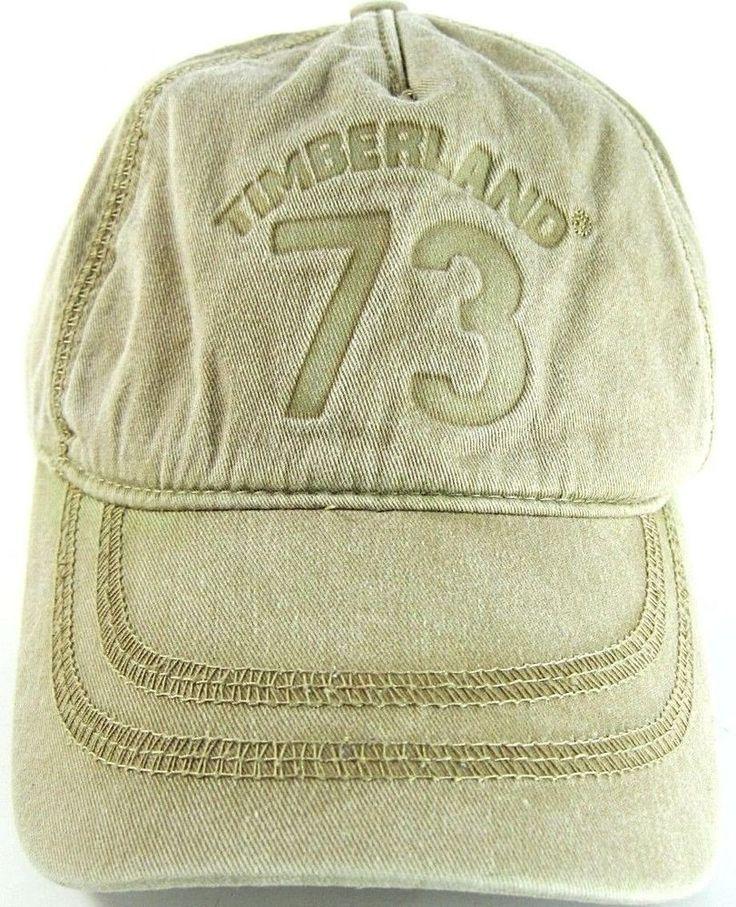 Timberland Men Baseball Cap 100% Cotton Khaki One Size Fits.  DAD 7 #Timberland #BaseballCap