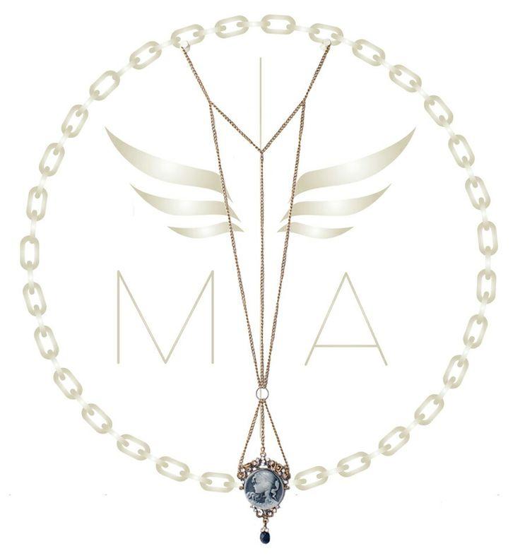 Collar largo bronce by Mery Angel accesorios #diseño #moda #estilo #chain #brillo #design #trendy #bogota #colombia #diseñocolombiano