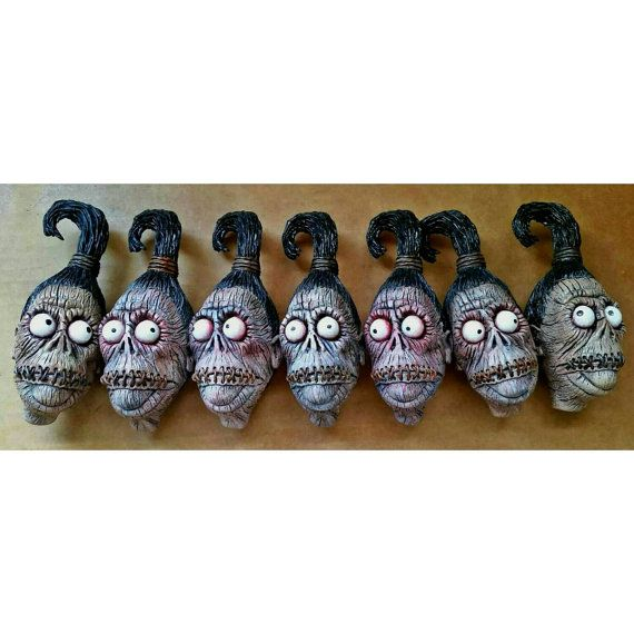 Hey, I found this really awesome Etsy listing at https://www.etsy.com/listing/247125169/shrunken-head-ornament-preorder