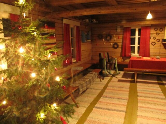 Christmas time in a farm. Silence, old tales, food and outdoor activities.