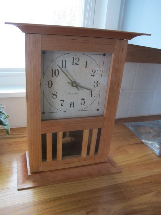 Shaker Mantel Clock Plans - WoodWorking Projects & Plans