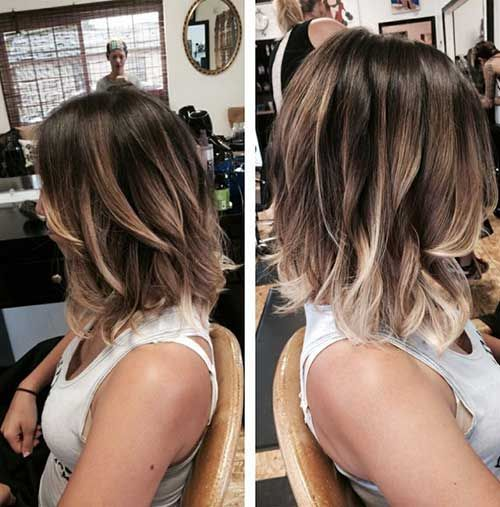 24 Ombre Bob Hairstyles – #Bob #hairstyles #ombre