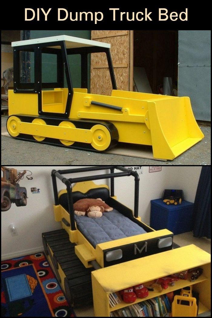 Truck Bed Bedroom: DIY Dump Truck Bed In 2019