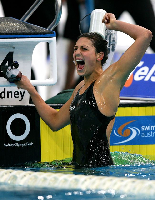 Olympic swimmers nude naked australian