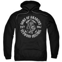 Sons Of Anarchy - Redwood Originals Adult Pull Over Hoodie