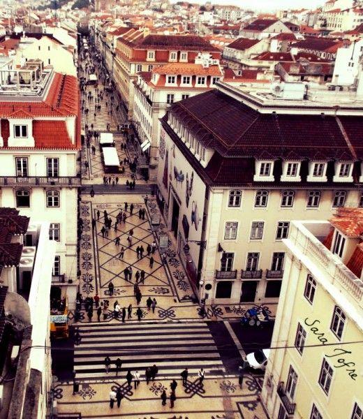 Lisbon's Rua Augusta (2014)