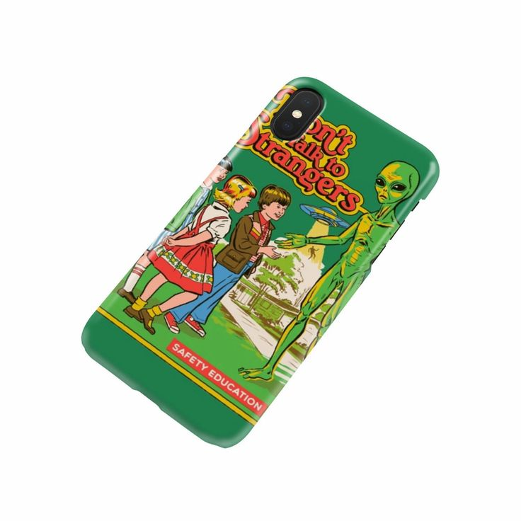 Phone Case Don't Talk To Strangers Protective Phone Cover