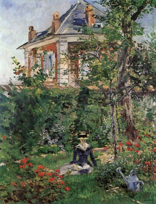 Édouard Manet - In the Garden of the Villa Bellevue, 1880