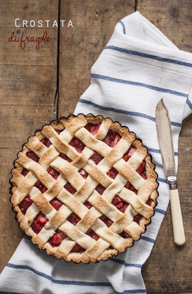 Crostata di fragole #strawberry #latartemaison