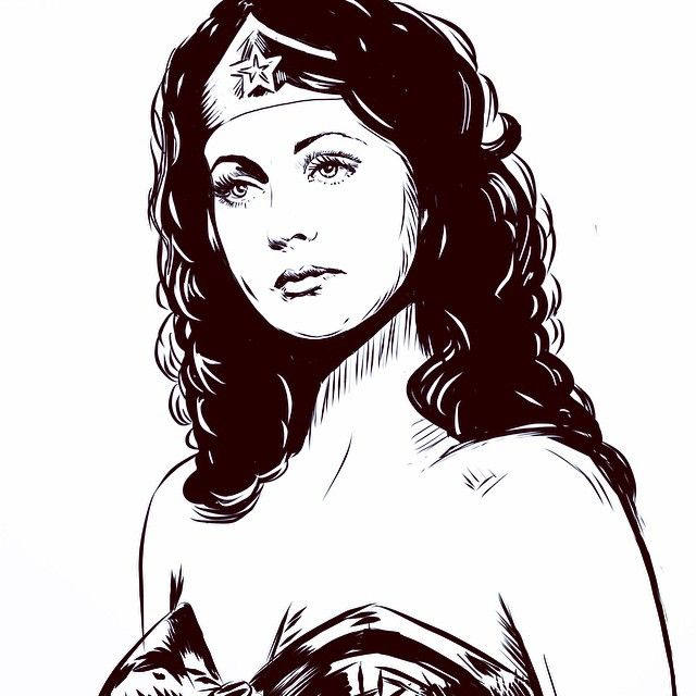 Wonder Woman by Lucky Jackson