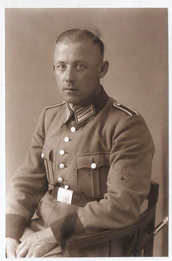 Фото Полицейский - жандарм Германия 3 Рейх.