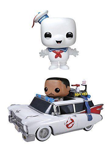 Funko Ghostbusters POP! Movies Vinyl Collectors Set: 6 Stay Puft Man Ecto 1 & Zeddemore Action Figu @ niftywarehouse.com #NiftyWarehouse #Ghostbusters #Movie #Ghosts #Movies #Film