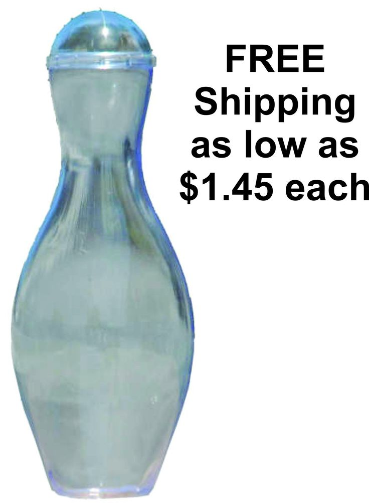 Mini Bowling Pin Candy Container with FREE SHIPPING INCLUDED