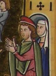 Mainzer Evangeliar, Phrygische Mütze, Folio 33 v