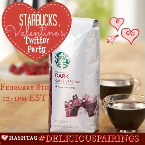 Starbucks Valentines Twitter Party Event! 2/8 12pm EST
