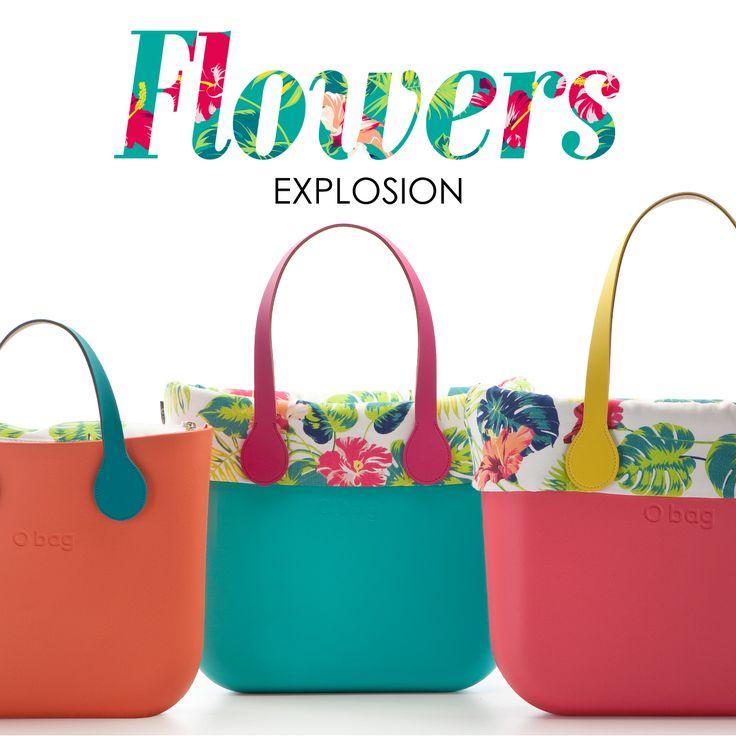 FLOWER EXPLOSION!! ✿.。#Obag #estate #colors ✿.。