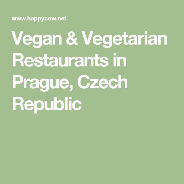Vegan & Vegetarian Restaurants in Prague, Czech Republic