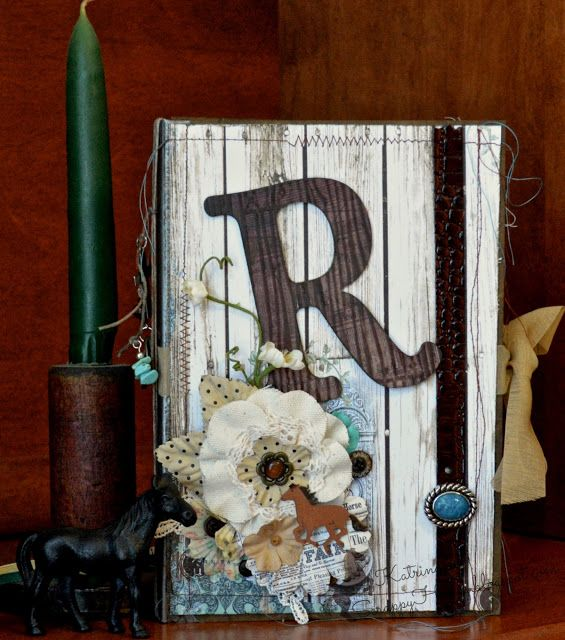ScrappyHorses; Vintage; CowGirl; Lapbook; Junk Journal; Horse;