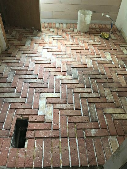 How To Install A Brick Tile Floor Brick Tiles Brick