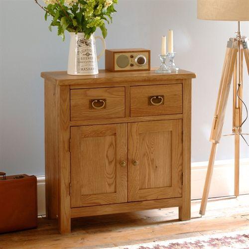 salisbury, oak, mini sideboard, sideboard