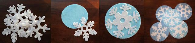 Loons and Quines @ Librarytime: Flannel Friday: Five Little Snowflakes - with templates