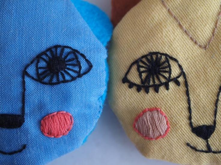 LOVE the stitching!