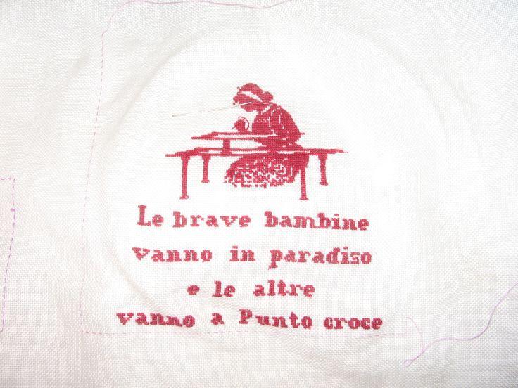 ricamatrice schema ;Silvana Fontanelli