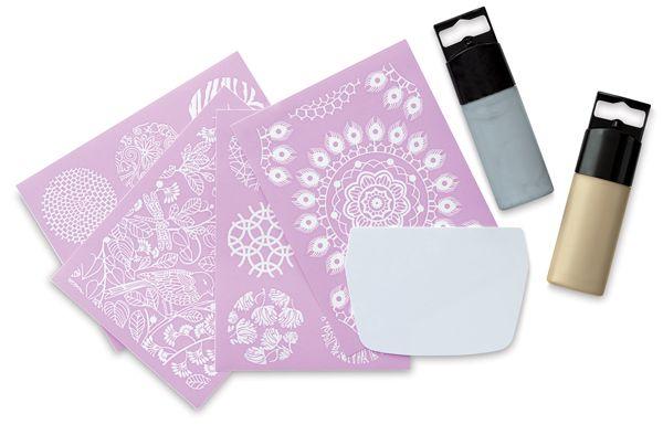Шелкография, она же трафаретная печать, (Silk screening) не особенно распространенная техника в полимерной глине, что на…