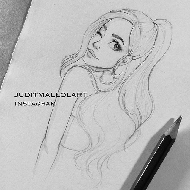 Beautiful emo girl drawings