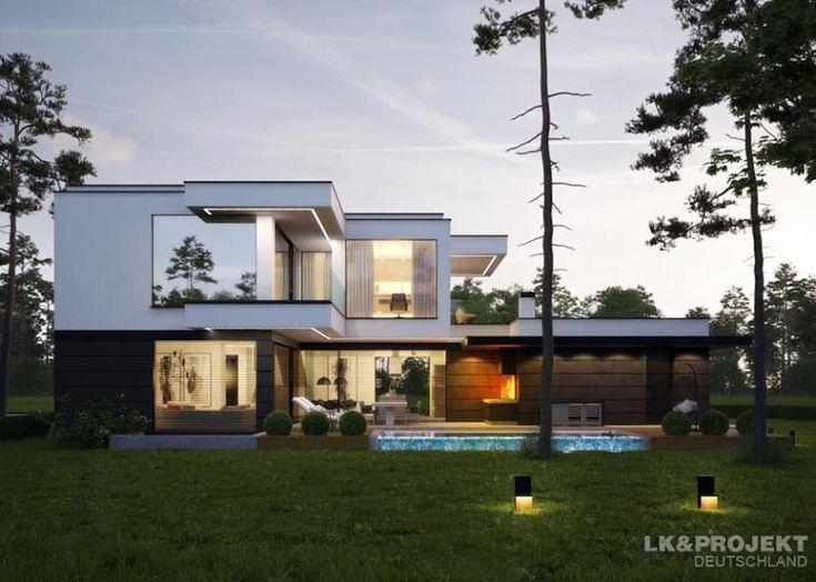 Dieses Haus ist einfach mal anders. Unser Entwurf LK&1314.: moderne Häuser von LK&Projekt GmbH