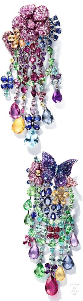 RIHANNA ❤ CHOPARD Chandelier Earrings