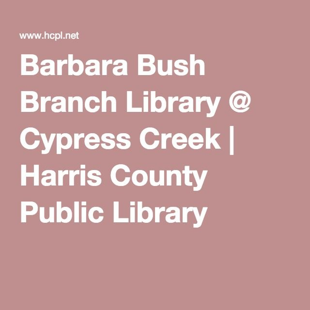 Elegant Barbara Bush Branch Library Harris County Public Library System