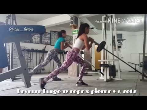 RUTINA CON BARRA OLIMPICA - YouTube