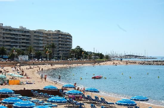 Saint-Raphael, France. Spent so many summers on that beach in my youth!